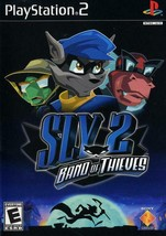 Sly 2 Band Of Thieves PS2 Great Condition Complete Fast Shipping - $19.93