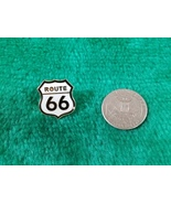 Route 66 Shield Street Sign Lapel Pin - $4.95