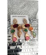 Stone In Love Gold Multi Rhinestone Earrings Party, Date Wedding - $14.85