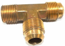 """Big A Service Line 3-151908 Brass Pipe, Flare Tee Fitting 5/8"""" x 1/2"""" - $14.75"""