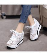 Summer New Lace Breathable Sneakers - $45.00