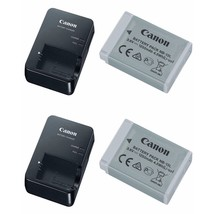 2X Canon CB-2LHE Battery Charger AND Canon NB-13L Li-Ion Battery Pack - $192.06