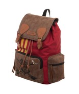 Harry Potter Quidditch Faux Leather Premium Backpack Rucksack Laptop Case - $69.95