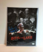 Friday the 13th Jason Voorhees Ari Lehman Boy in the Lake Signed 11 x 14... - $74.24