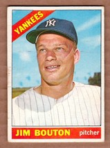 1966 Topps #276 Jim Bouton New York Yankees EXMT cond. #a - $5.36
