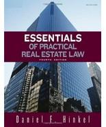 Essentials of Practical Real Estate Law Hinkel, Daniel F. - $17.28