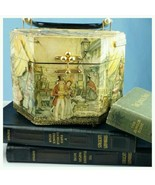 Vintage Mid Century Anton Pieck 3D Composition Art Print Box Purse - $143.55