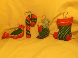 Stuffed Christmas ornaments IN STOCK - $12.50