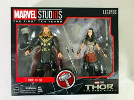 Marvel Legends Thor and Sif The Dark World  Action Figure 2-Pack Marvel ... - $29.67
