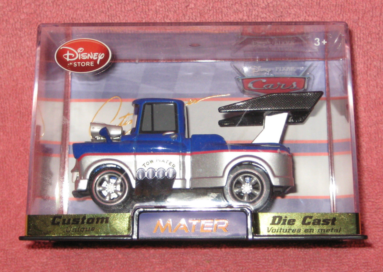 Disney Store Cars Custom Artist Series Mater. Brand New in Hard Case. #9296