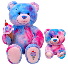 NEW Build a Bear Bubblegum Ice Cream Cone 15 in. Teddy 7 in. Buddies Plu... - $169.99