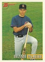 1993 Bowman #637 Orlando Palmeiro RC  - $0.50