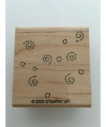 Stampin Up Rubber Stamp Swirl Background Fun Fillers Decorative Pattern ... - $3.99
