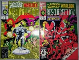 Silver Surfer / Warlock: Resurrection #1 (Mar 1993, Marvel) & #3(May 1993) - $5.17