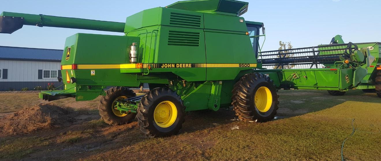 1994 JOHN DEERE 9500 For Sale In Lawrenceville, Illinois 62439