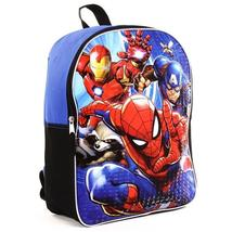 """(WCC) (Free Ship)  Spiderman MARVEL 15"""" Backpack (Pack of 3) - $63.57"""