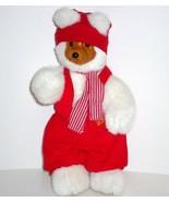 Robert Raikes Bears Santa's Red Elf Second Christmas Edition 1989 - $19.50