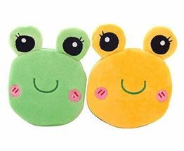 PANDA SUPERSTORE Lovely Purse Girls' Wallet Plush Purse Kids Toy Gift,Frog,Rando