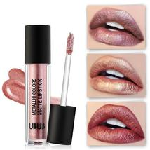 New Lip Tint Makeup for Women Waterproof Long Lasting Pigment Nude Rose Gold Gli - $3.88