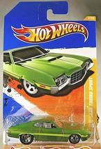 2011 Hot Wheels #2 New Models 2/50 '72 FORD GRAN TORINO SPORT Green Vari... - $11.55