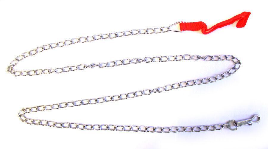 Dog Training Leash Long Chain Pet Puppy Strap Durable Webbing Steel #MCK11 - $14.17