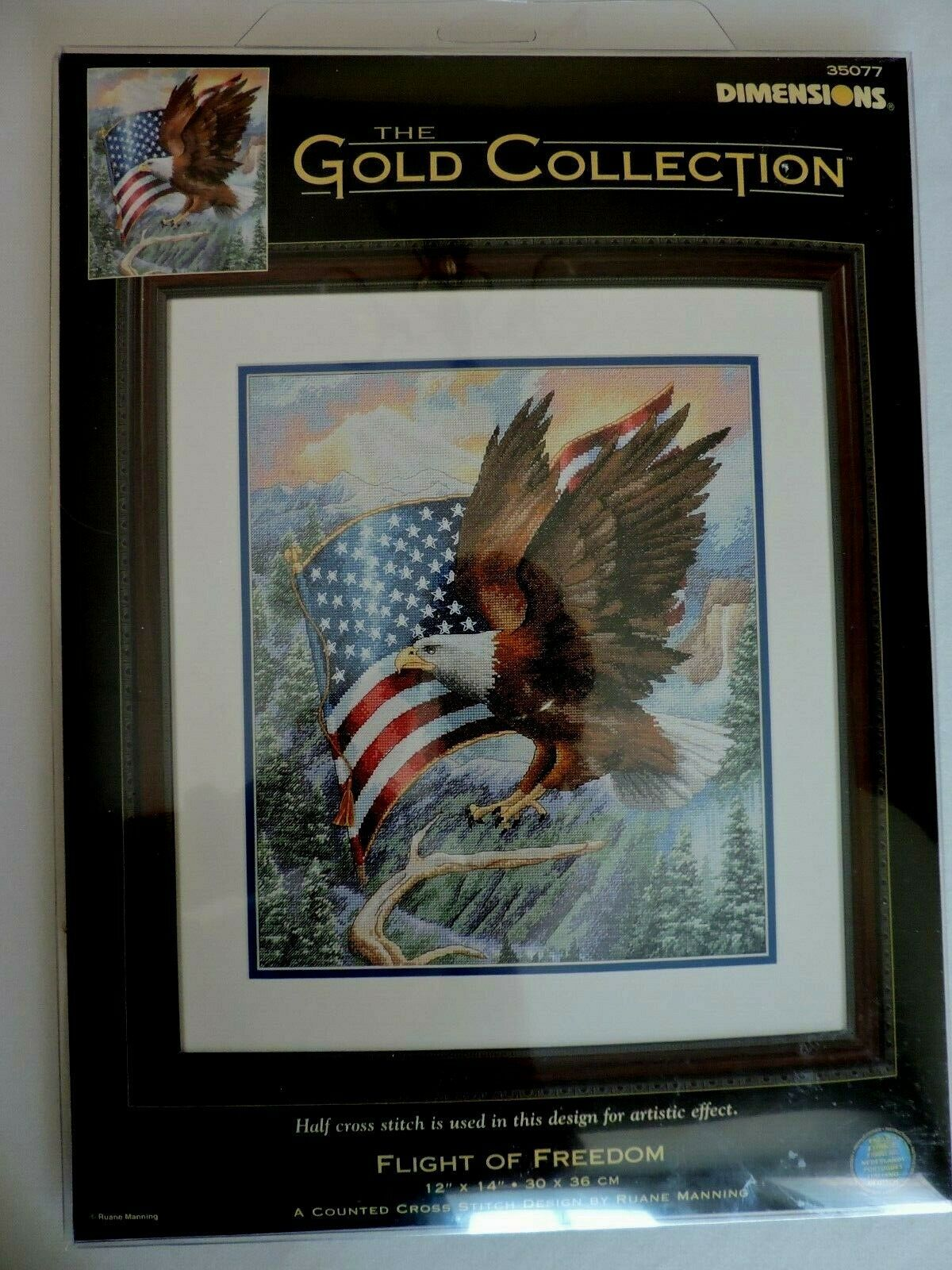 Dimensions Gold Collection Flight of Freedom Cross Stitch Kit 35077 New NIP - $108.00