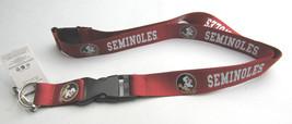 Ncaa Nwt Keychain LANYARD- Florida State Seminoles - Logo & Name - $7.95