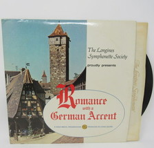 Romance German Accent 33 1/3 RPM Record Album Longines Symphonette Original - £26.15 GBP