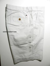 Tommy Hilfiger New Men's Casual Short Custom Fit Slim Fit Nwt Size 35 Flat Front - $21.73