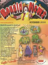 McDonald's - November 2000 - Ronald News - Belgium - $2.50
