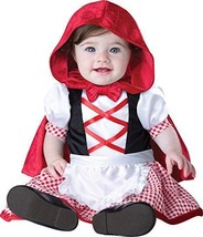 Incharacter Little Red Riding Hood Fairytale Infant Baby Halloween Costume 16058 - $25.99