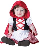 Incharacter Little Red Riding Hood Fairytale Infant Baby Halloween Costu... - $25.99