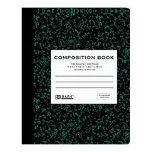 Quad-Ruled Marble Composition Book - $2.50
