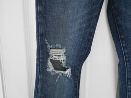 $228 J Brand - 620 Mid-Rise Super Skinny in Dark Erosion (Destroyed) - Size 26 image 6