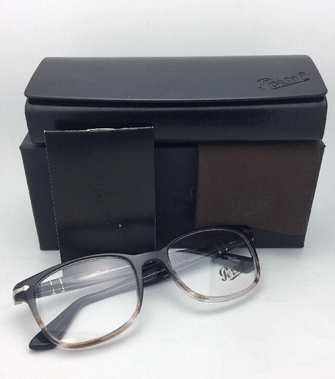 7bcddaaa63a New PERSOL Rx-able Eyeglasses 3119-V 1012 53-19 145 Grey Gradient