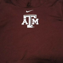 Nike Therma Fit Hoodie Texas A & M Pull Over Pouch Pocket Maroon Youth X... - $28.04