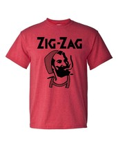 Zig Zag T-shirt retro vintage hippie style cotton blend graphic printed tee image 2