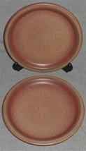 RARE Set (2) Universe Ceramics HEATH POTTERY MOLD Salad Plates 1970s LOS... - $98.99