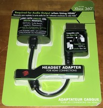 Mad Catz NEW Xbox 360 HDMI Headset Adapter Audio Input Connections - $1.94