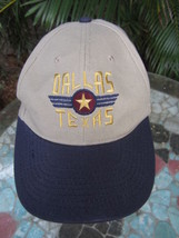 Ballcap Unisex Adult Adjustable DALLAS TEXAS embroidered Single Star - $7.83