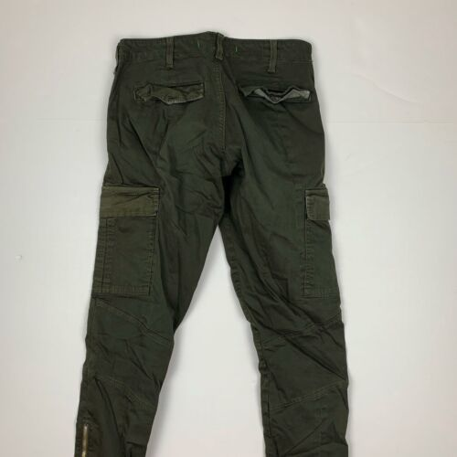 J Brand Cargo Jeans West Point Olive Green USA Women Sz 24 Ankle image 5