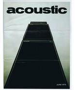 ORIGINAL Vintage June 1973 Acoustic Amps Catalog - $29.69