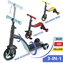 Boy Girl Tricycle Kick Scooter Bike for Kids Toddler 2-6 Year Old - $78.85+