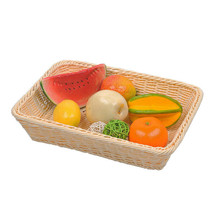 Imitation Rattan Woven Basket Bread Food Fruit Vegetable Container Home ... - €38,80 EUR