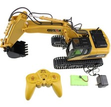 RC Excavator Remote Control Machinery Toy Kid Truck Construction Hydraul... - $299.81