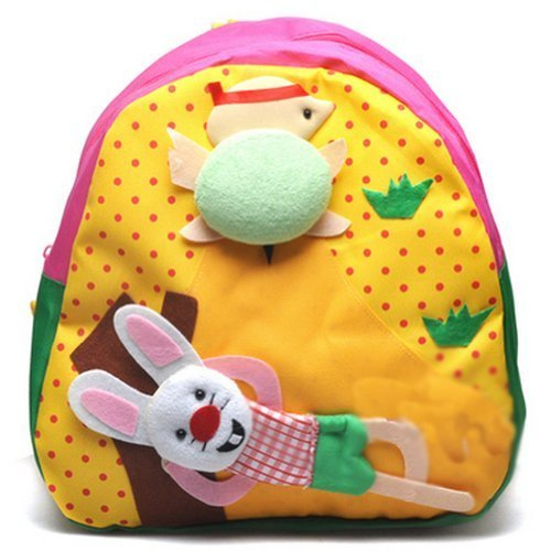 Baby Mini Backpack Infant Lunch Bag Toddler Shoulder YELLOW Slow But Sure 1-4Y