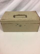 "Vintage Metal Box No Key 6""x 11 1/2""x 4 1/2"" - $9.89"