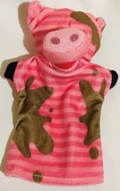 Melissa And Doug Piggy Pig Pink Farm Animal Hand Puppet EUC - $11.58