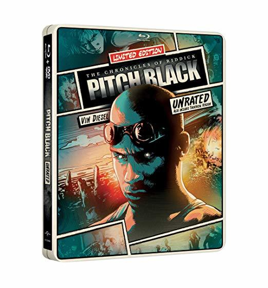 Pitch Black Limited Edition Steelbook [Blu-ray + DVD]