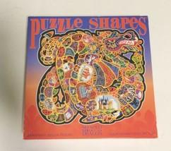 "New SEALED Vintage DRAGON Shape Puzzle 1000 pcs 30""x28"" No. 104241 CEACO USA image 1"